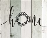 Home Rustic Wreath II