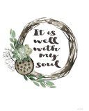 Well With My Soul - Wreath