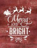 Merry & Bright Santa