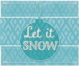 Let It Snow - Blue