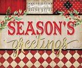 Season's Greetings Plaid