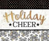 Holiday Cheer - Black & Gold