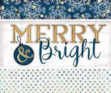 Merry & Bright Blue
