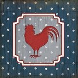 Red White and Blue Rooster X
