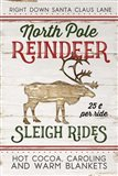 Vintage Reindeer Rides