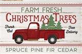 Vintage Truck Farm Christmas Trees