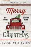 Vintage Truck Merry Christmas