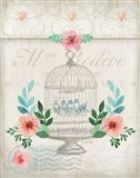 French Spring Birdcage