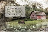 Farm, Family, Country