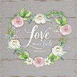 Love Wreath - Gray