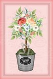 Floral Topiary - Pink
