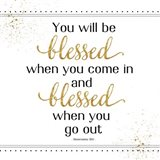 You Will Be Blessed