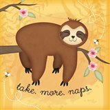 Take More Naps Sloth