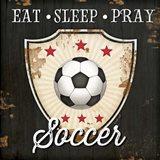 Eat, Sleep, Pray, Soccer