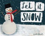 Night Snowman