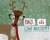 Cold Hipster Reindeer