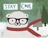 Hipster Bear Stay Cool