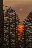 Smokey Sunset - Crater Lake