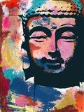 Painted Buddha II