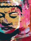 Painted Buddha III