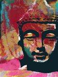 Painted Buddha IV