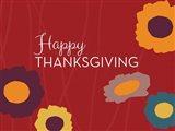 Multicolor Happy Thanksgiving