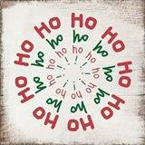 Ho Ho Ho - Red and Green