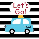 Let's Go - Bright Blue Taxi