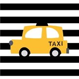 Bright Yellow Taxi
