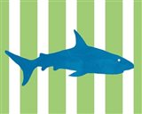 Blue and Green Shark