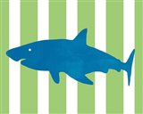 Blue and Green Shark II