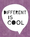 Different is Cool