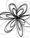 Black Ink Flower I