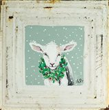 Lamb with Wreath
