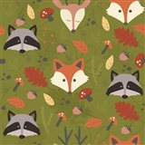 Fall Animal Pattern