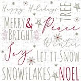 Merry & Bright Typography