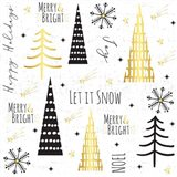 Let It Snow Gold