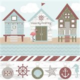 Coastal Christmas Pattern III