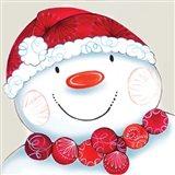 Holiday Snowman Head