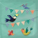 Birds & Flags