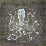 Octopus Geometric Silver