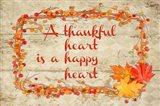 Thankful Happy Heart