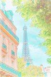 Eiffel Tower Pastel