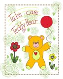 Take Care Teddy Bear