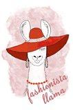 Fashionista Llama