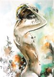 Watercolor Nude