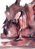 Maroon Ballerina