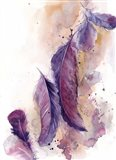 Purple Feathers VI