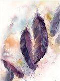 Purple Feathers VII