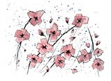 Pink Flowers I